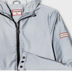 Hunter for Target metallic raincoat